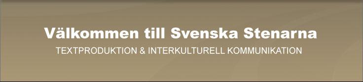 Välkommen till Svenska Stenarna